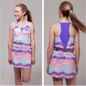 Size 10 ivivva lululemon tennis dress luon